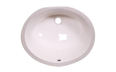 LS C1815 Undermount Ceramic Sink Bisque